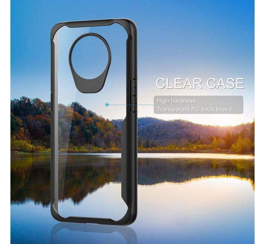 OnePlus 7T Hybrid Bumper Case Schwarz