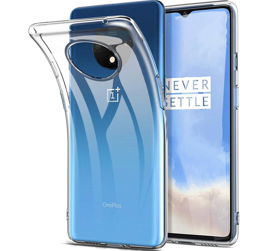 OnePlus 7T TPU-Hülle Transparent