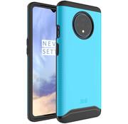 Tudia OnePlus 7T Hülle Merge Blau
