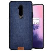 Noziroh OnePlus 7T Pro Hülle Stoff Blau