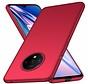 OnePlus 7T Hülle Ultra Slim Grip Textur Rot