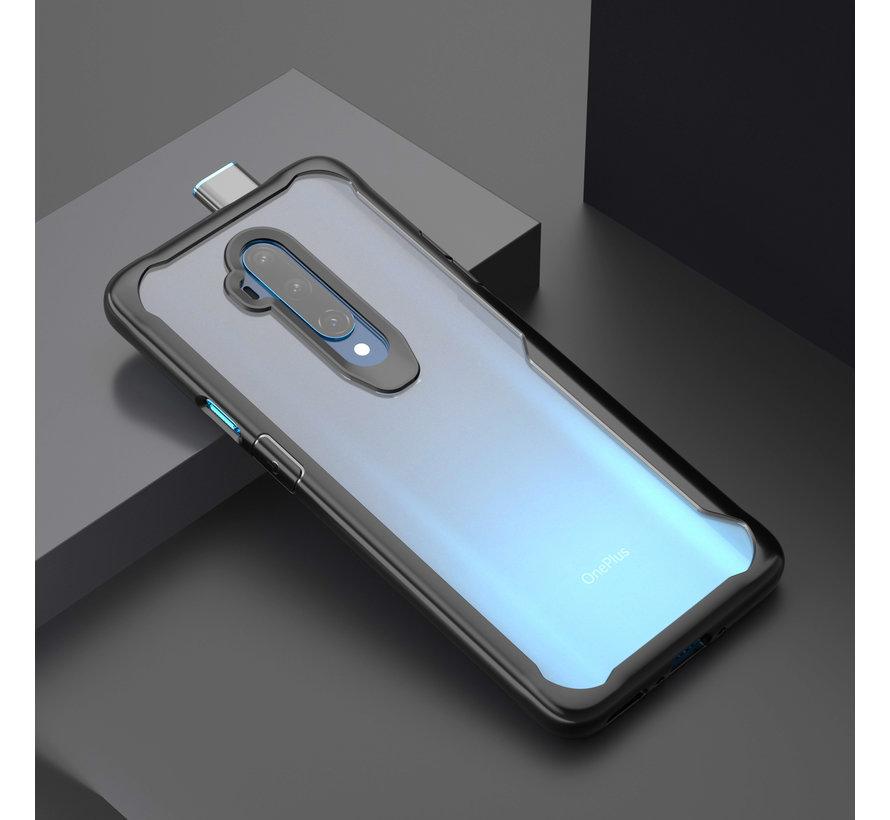 OnePlus 7T Pro Hybrid Bumper Case Schwarz
