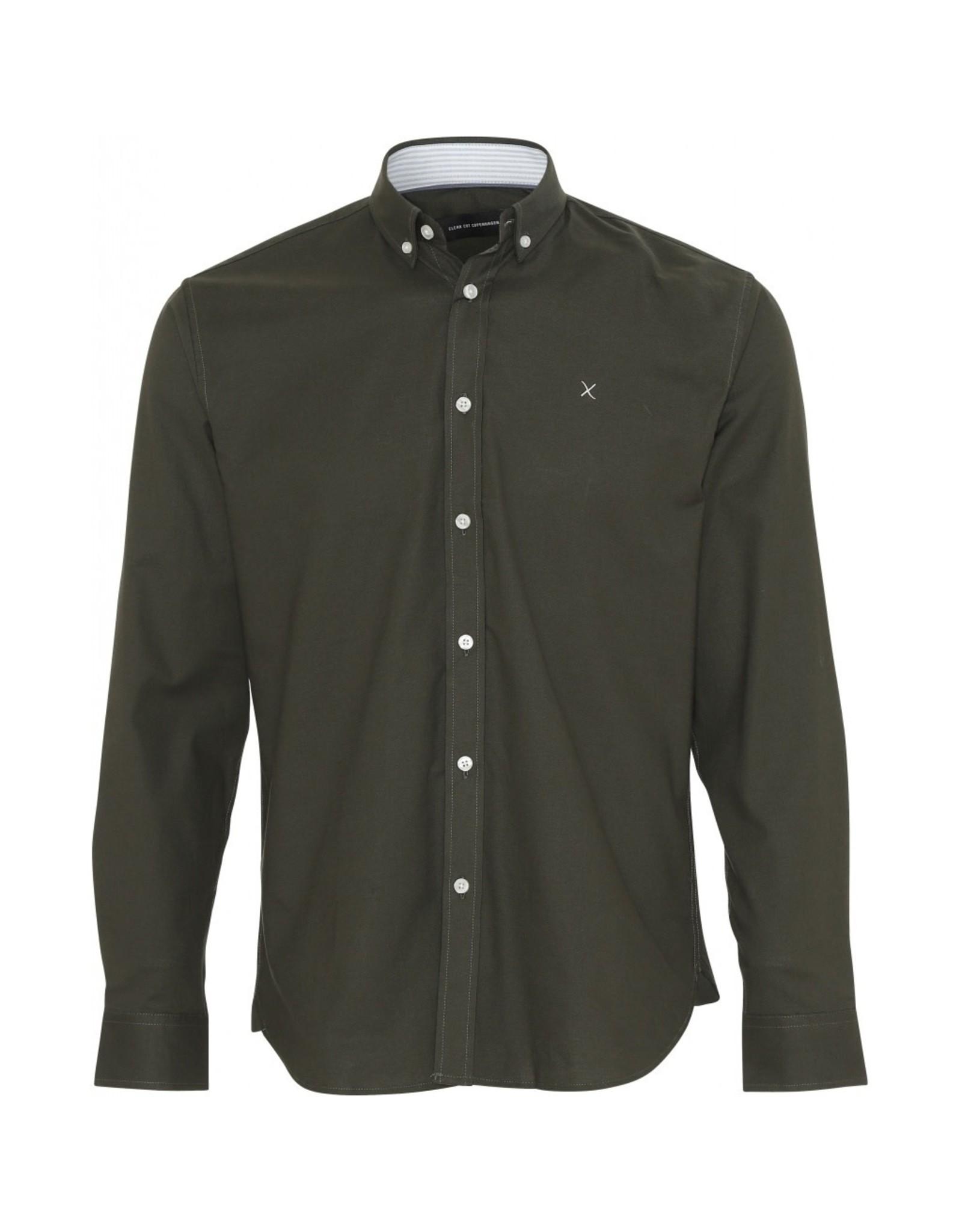 Clean Cut Copenhagen Oxford Plain Shirt