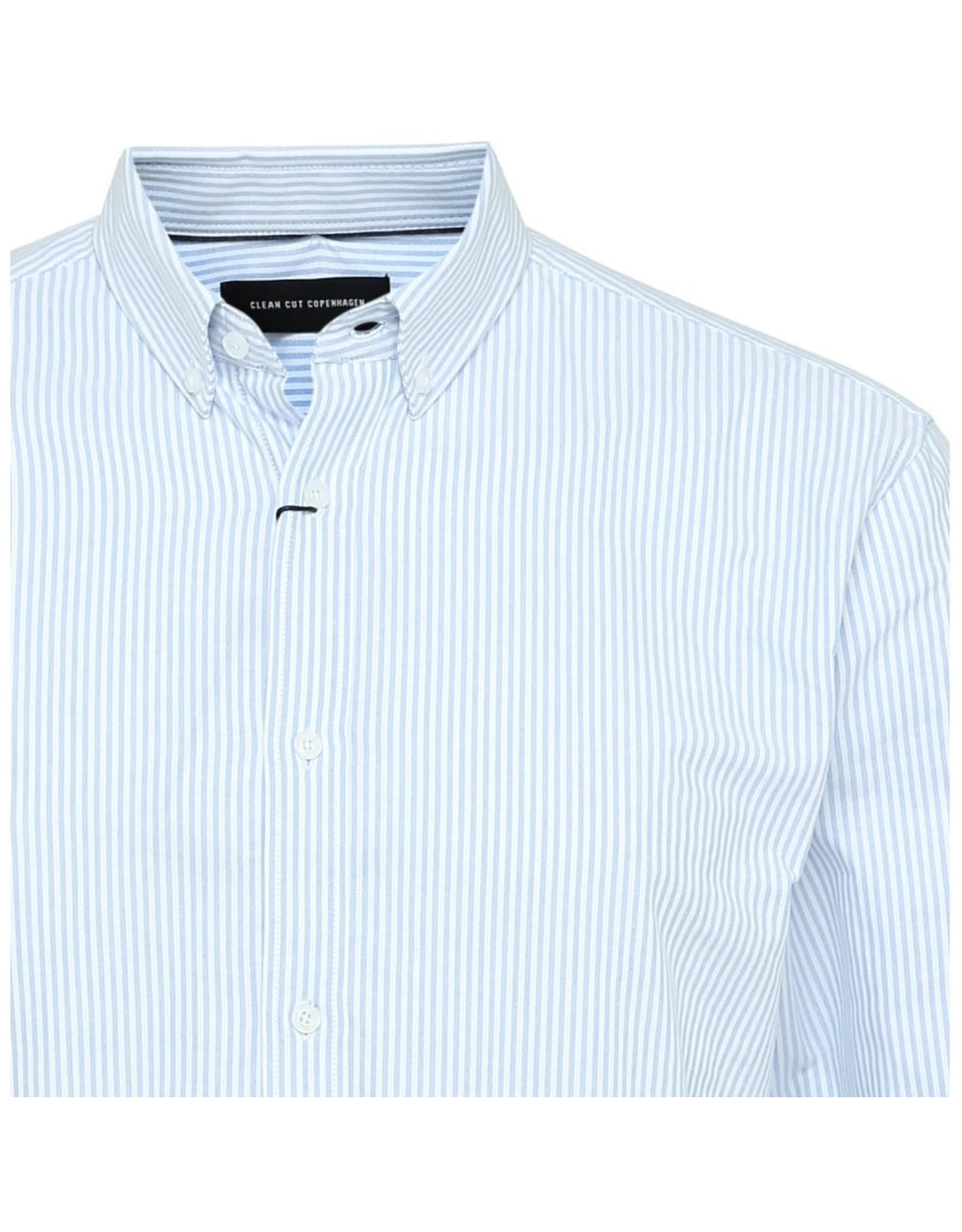 Clean Cut Copenhagen Oxford Stripe Shirt
