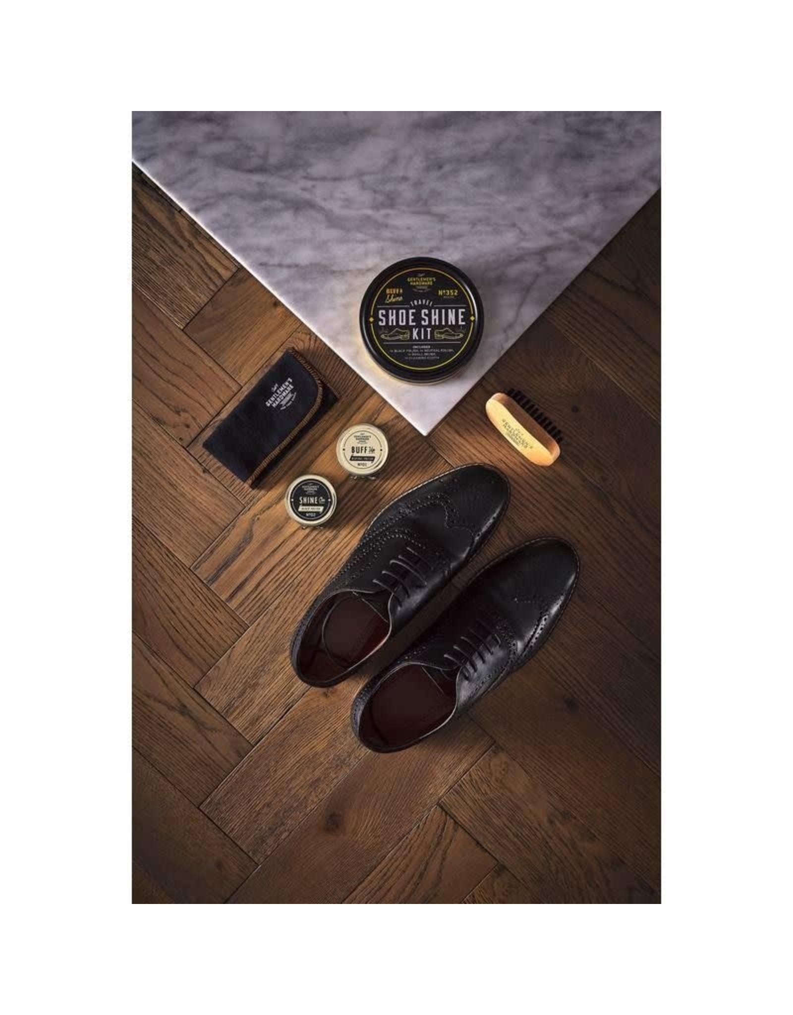 Gentlemen's Hardware Travel Shoe Shine Kit