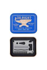 Gentlemen's Hardware Titanium Credit Card Tool