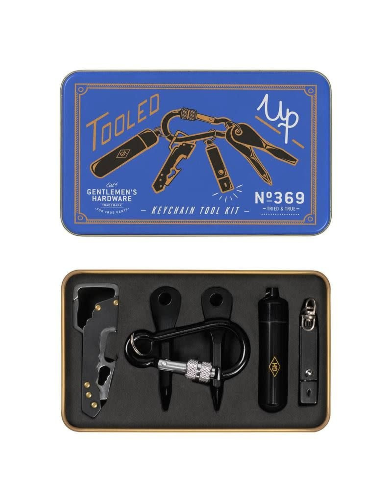 Gentlemen's Hardware Everyday Key chain Kit