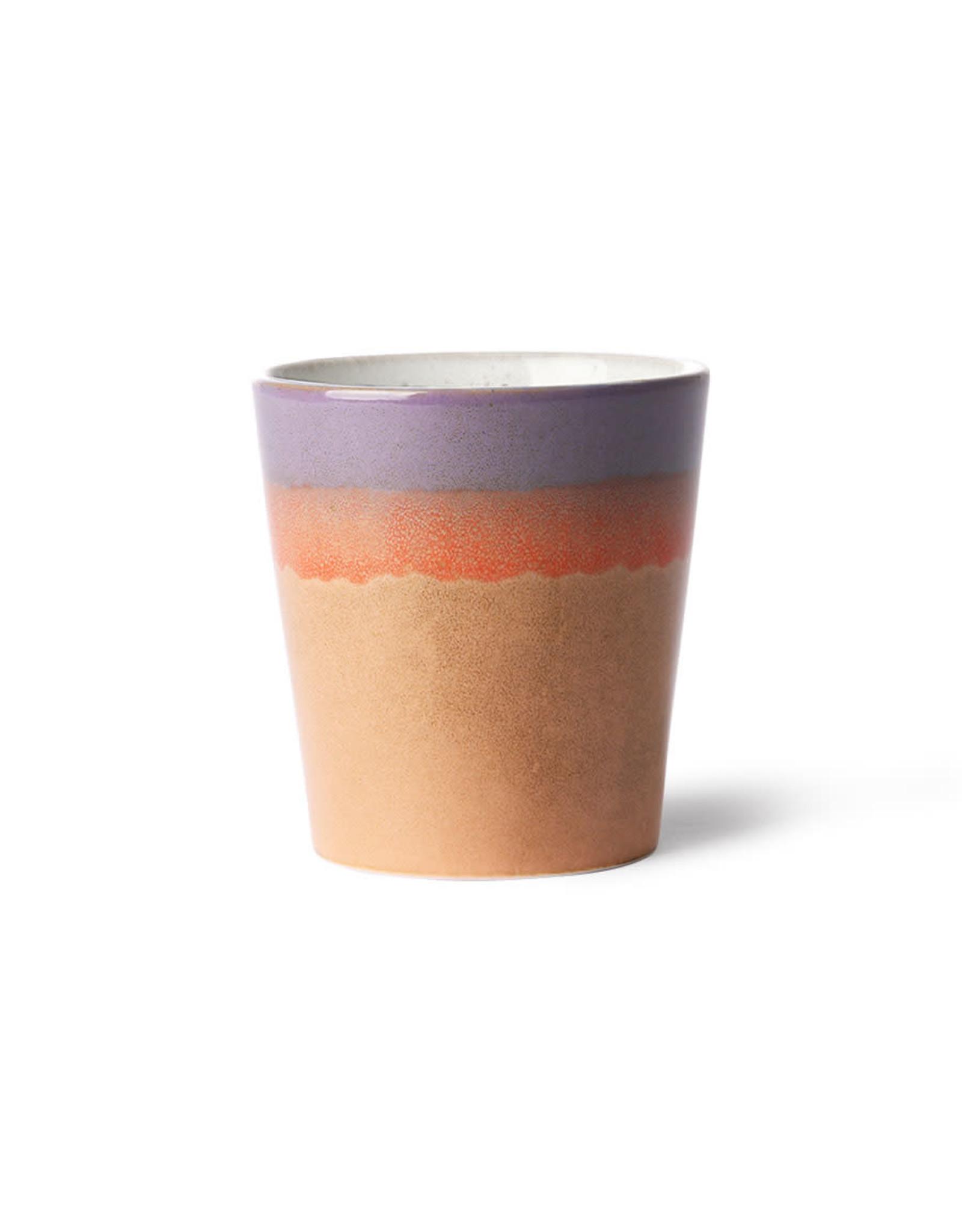 HKliving Ceramic 70's Mug ACE6860