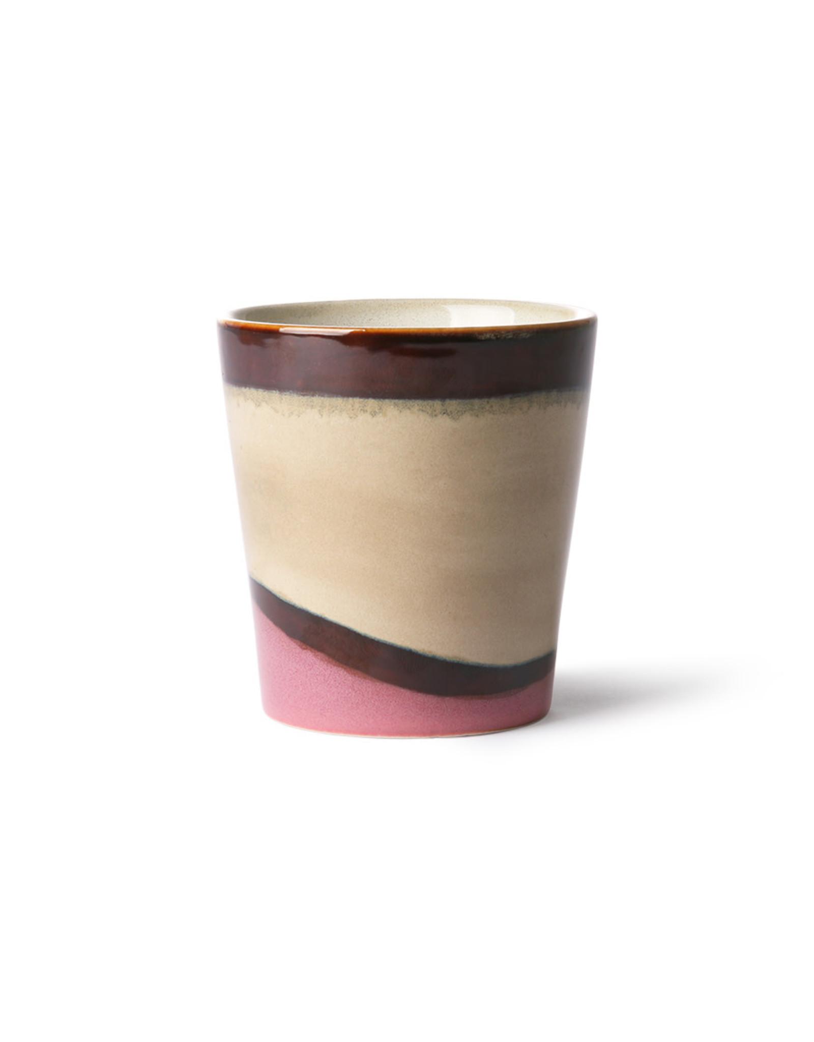 HKliving Ceramic 70's Mug ACE6862