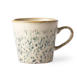 HKliving Ceramic 70's Cappuccino ACE6866