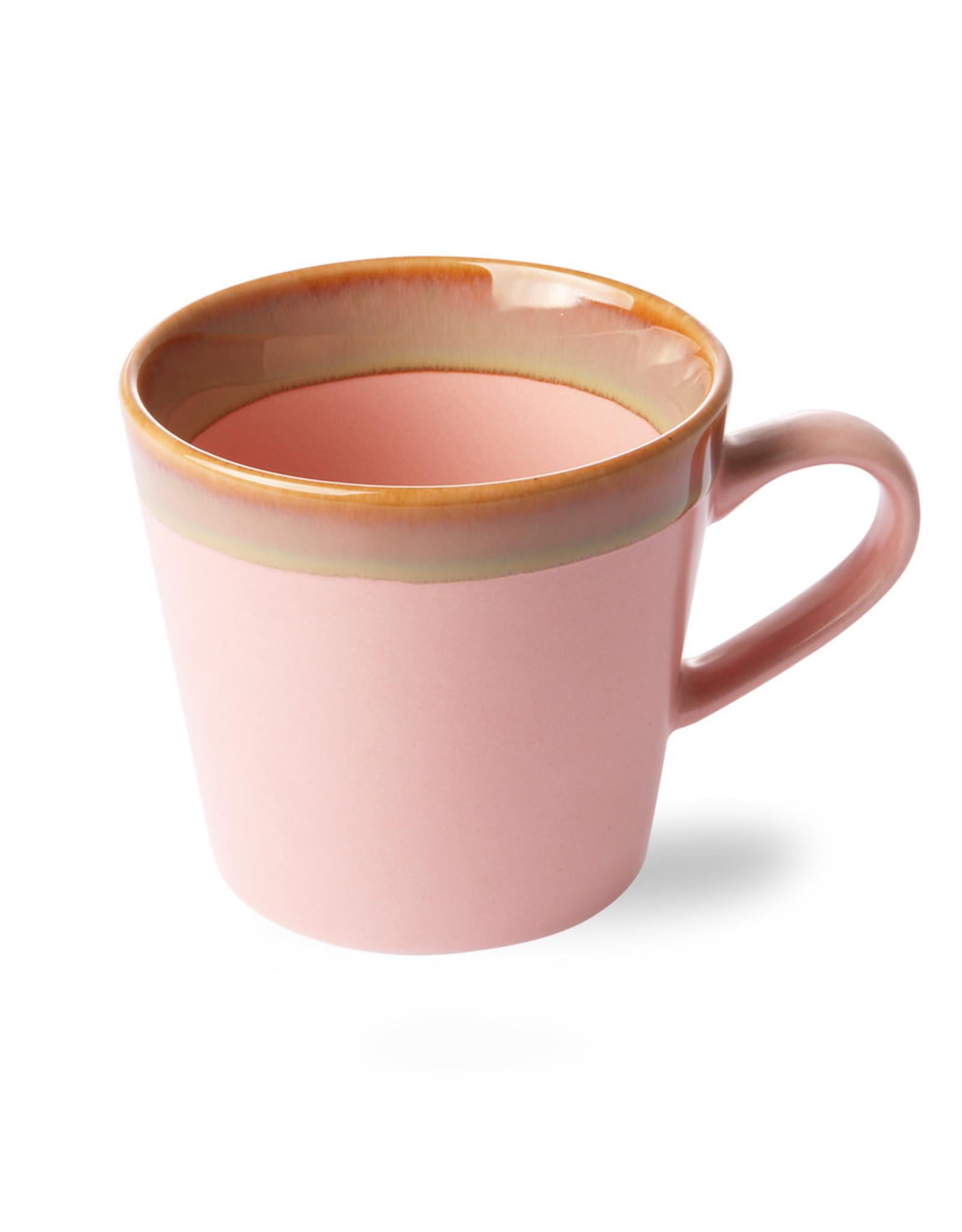 HKliving Ceramic 70's Cappuccino ACE6885