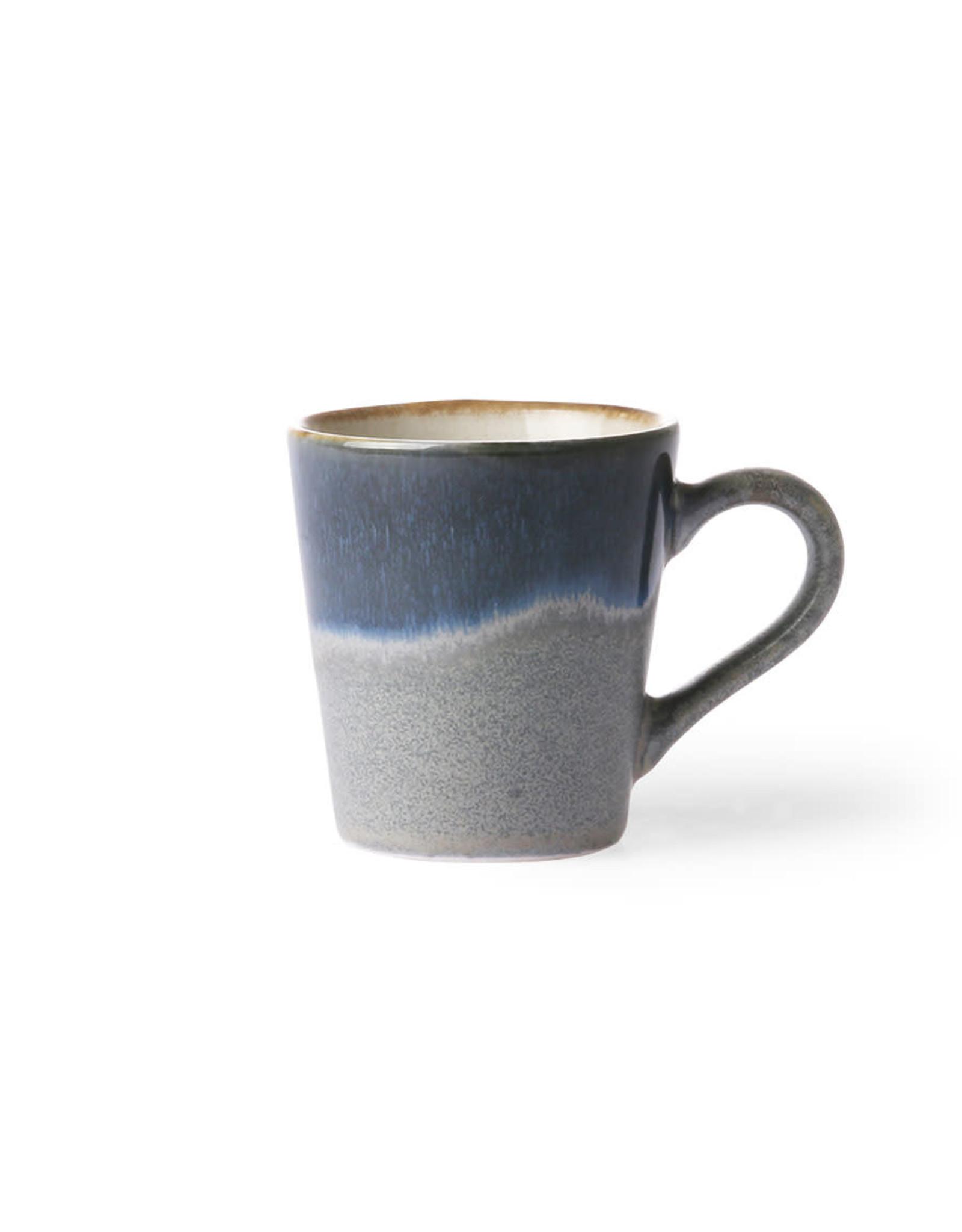 HKliving Ceramic 70's Espresso ACE6048
