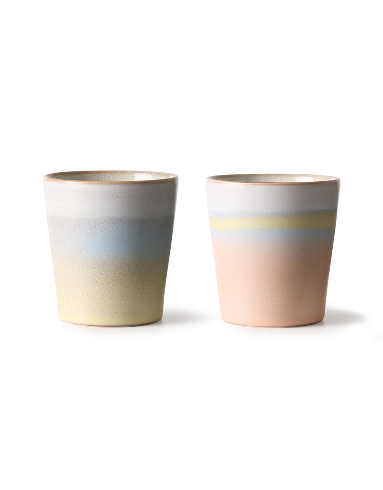 HKliving Ceramic 70'S Horizon ACE6893