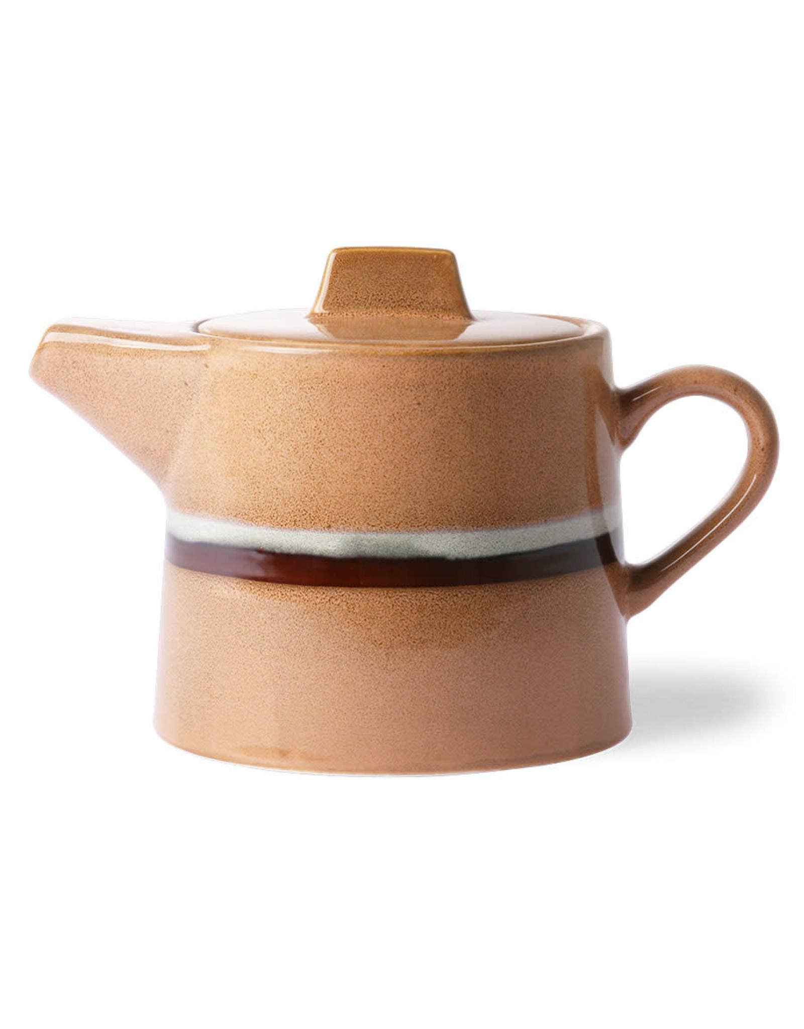 HKliving Ceramic 70's Tea Pot ACE6881