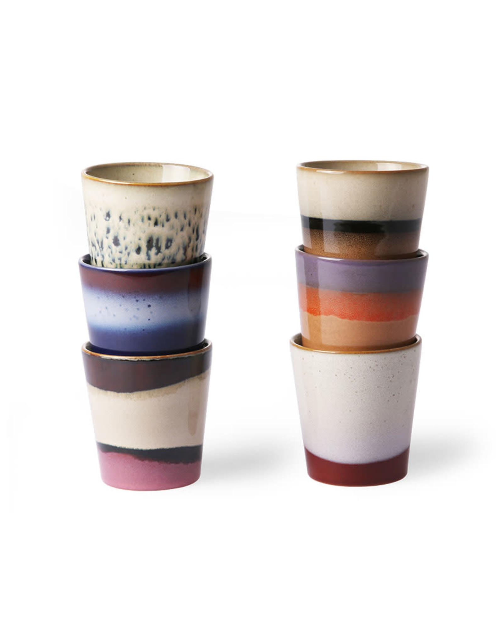HKliving Ceramic 70's Mugs ACE6857