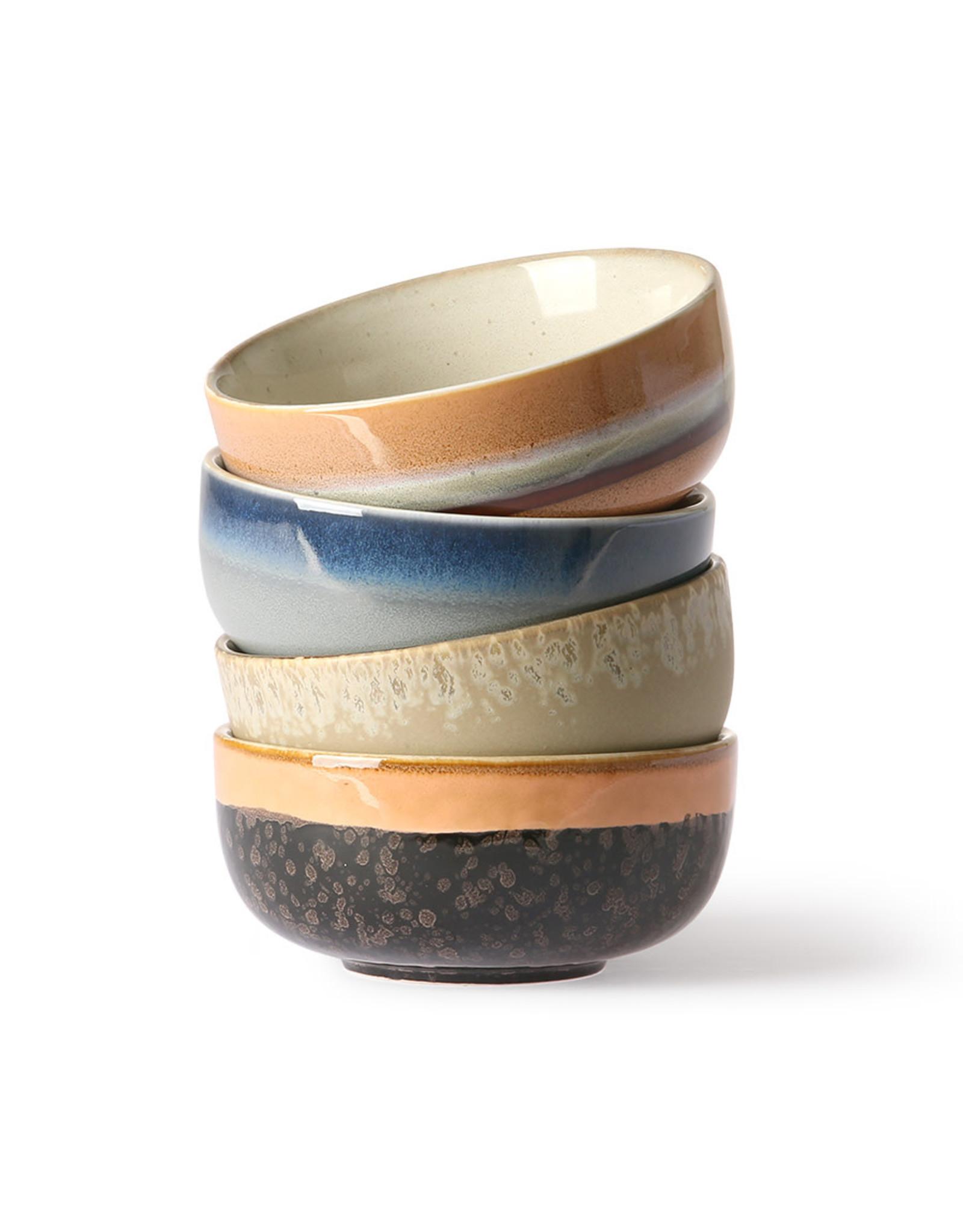 HKliving Ceramic 70's Medium Bowls ACE6877