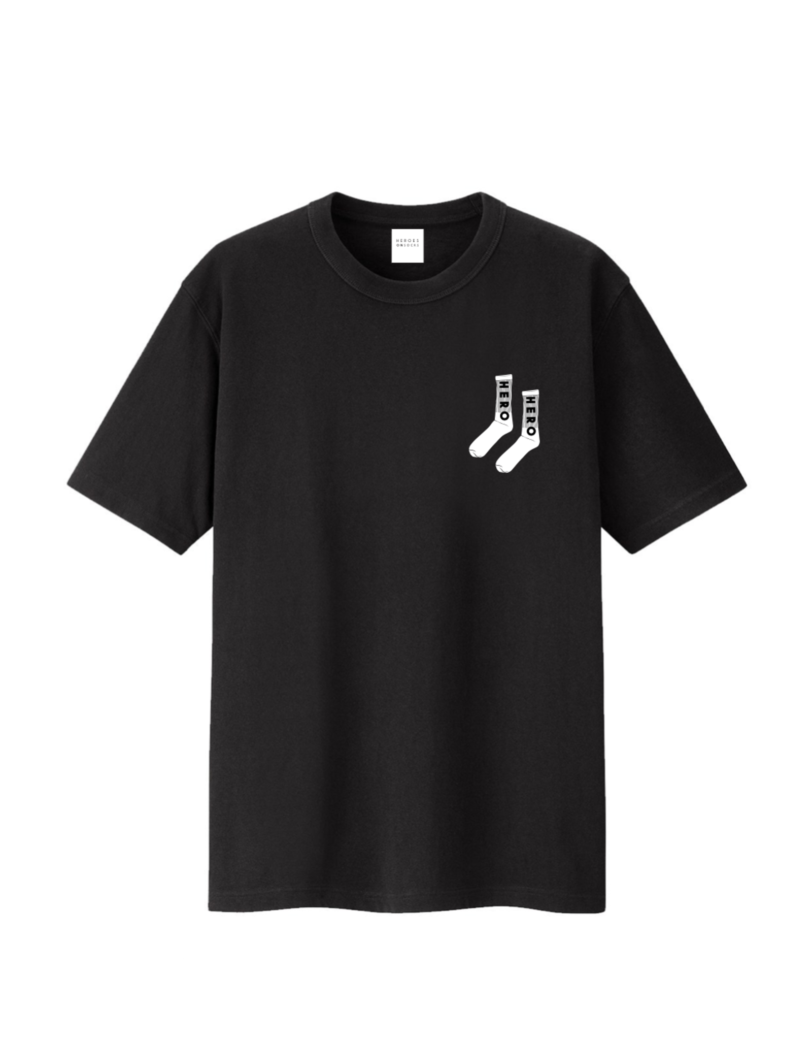 Heroes on Socks Sock Print T-Shirt