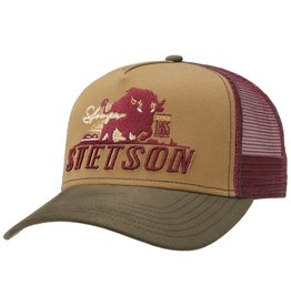 Stetson Stronger Bison Trucker Cap