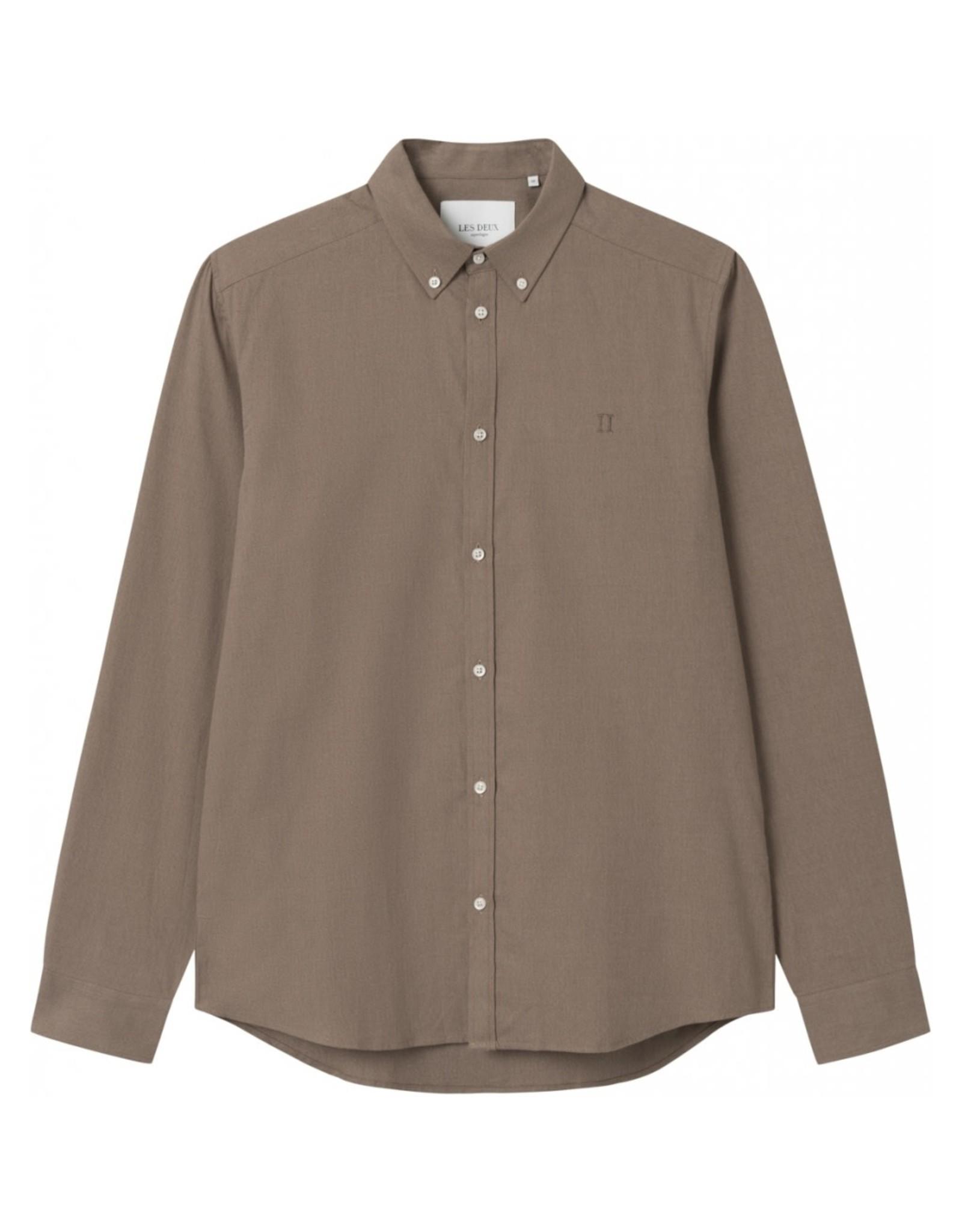 Les Deux Copenhague Harrison Brushed Shirt