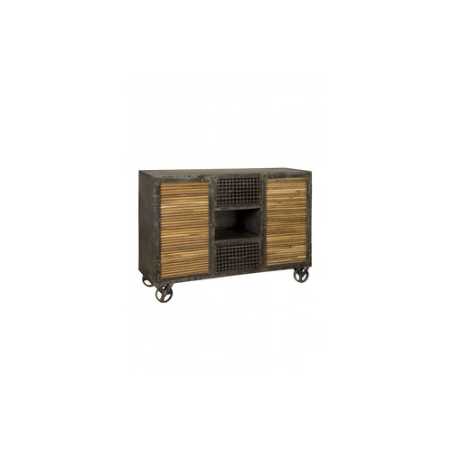 RENEW Tower Living RENEW Dressoir industrieel met wieltjes