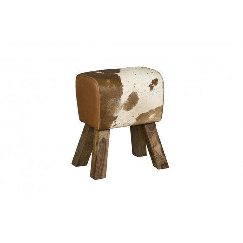 RENEW Stool, koeienprint