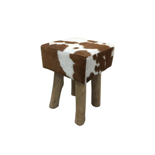 RENEW Tower Living RENEW Stool square - bruin/wit