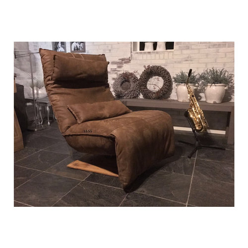 Chill Line Relaxfauteuil Indi Kenia leer brown | Chill Line
