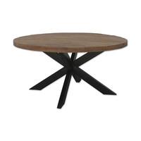Ronde eettafel Brix Sturdy | Mangohout | 150 cm