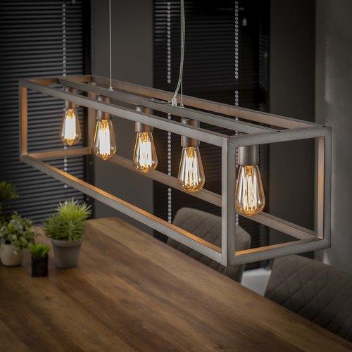 Rechthoekige Hanglamp | San Antonio 5L