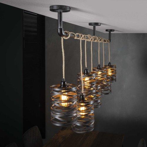 Max Wonen Metalen Hanglamp | Indianapolis 7L