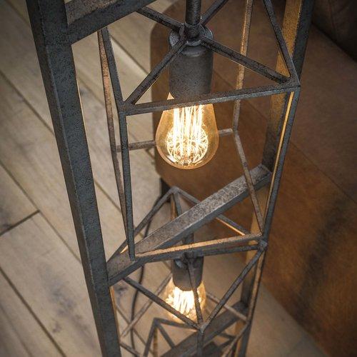 Max Wonen Industriële Vloerlamp | Boston 4L