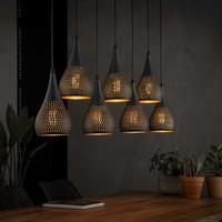 Hanglamp | Baltimore druppel | 7xØ15cm