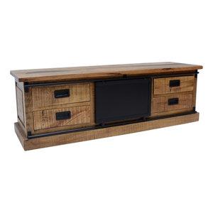 Benoa Industrieel tv dressoir Nora | 155 cm