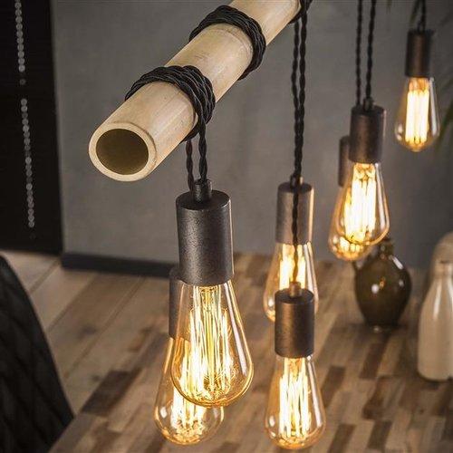 Max Wonen Bamboohouten Hanglamp | Hempstead | 7L