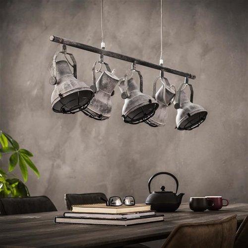 Max Wonen Industriële Hanglamp   Modesto   5xØ16