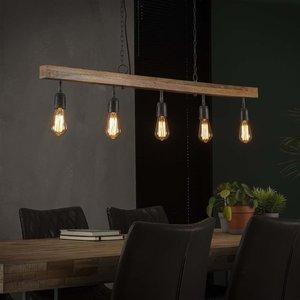 Max Wonen Mangohouten Hanglamp | Lubbock | 5L
