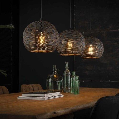 Max Wonen Hanglamp | Atlanta rond | 3xØ26