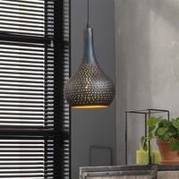 Hanglamp | Baltimore zwartbruin | Ø25
