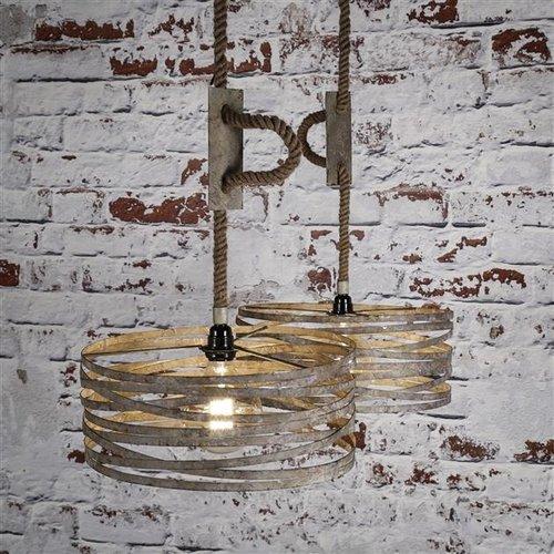 Max Wonen Hanglamp | Nashville zink | 2xØ40