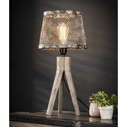 Vintage Tafellamp   Sioux driepoot   1L