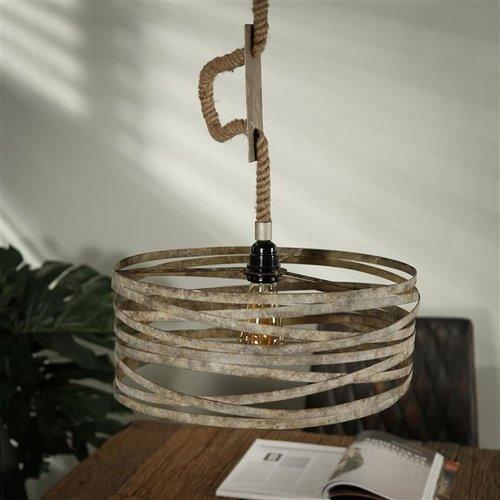 Max Wonen Hanglamp | Nashville zink | Ø40