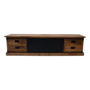 Benoa Industrieel tv dressoir Nora | 200 cm