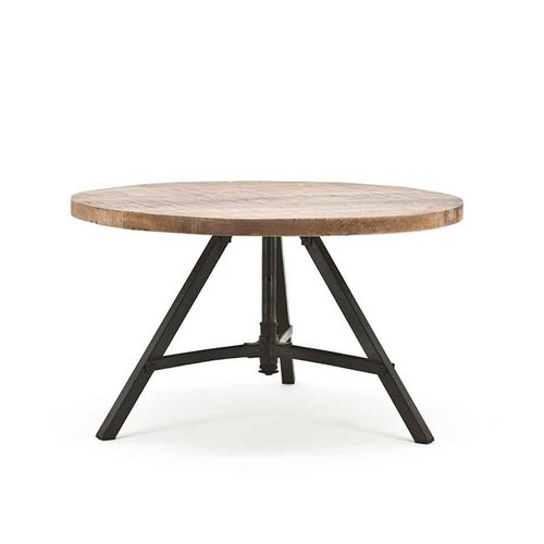 By-Boo By-Boo Industriële salontafel Discus 70 cm