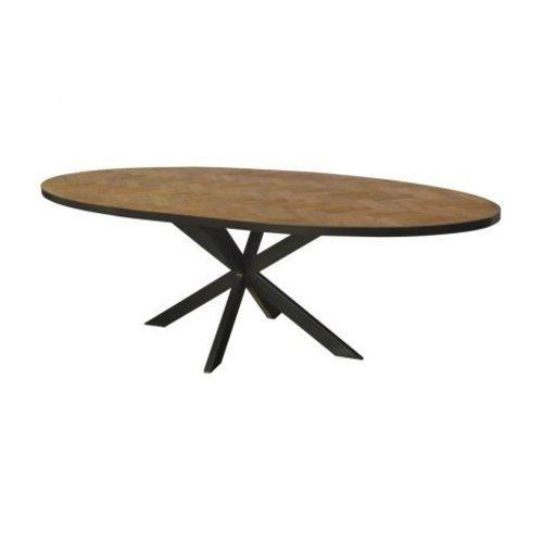 Ovale eettafel kopen? Bekijk onze eettafels collectie ovale tafels