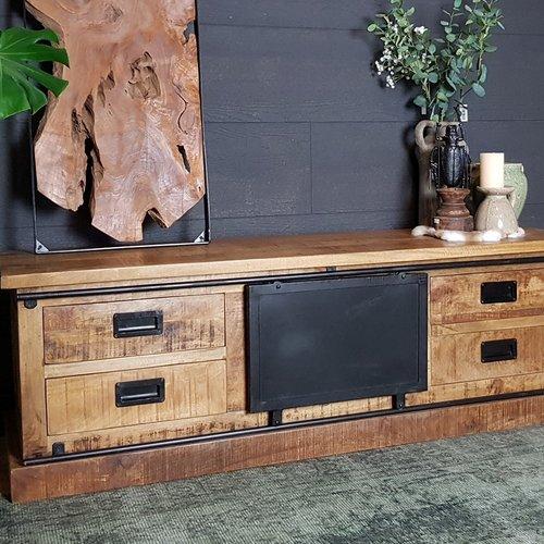 Industrieel tv meubel kopen? Bekijk alle tv meubels
