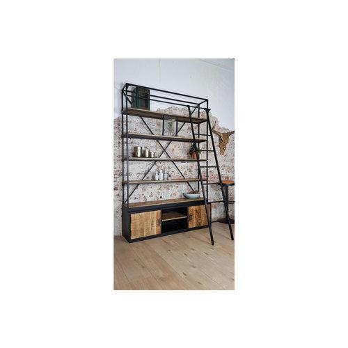 Industriële boekenkast kopen? Bekijk alle boekenkasten