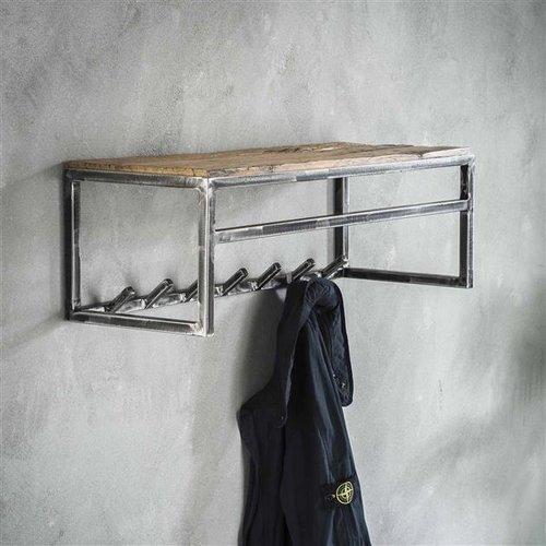 Max Wonen Kapstok   Manchester   7 haken met plank en roede