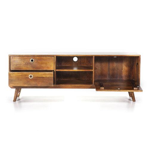 Eleonora Tv meubel Wisconsin | 150 cm | Mangohout