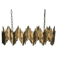 Gouden hanglamp | Krister