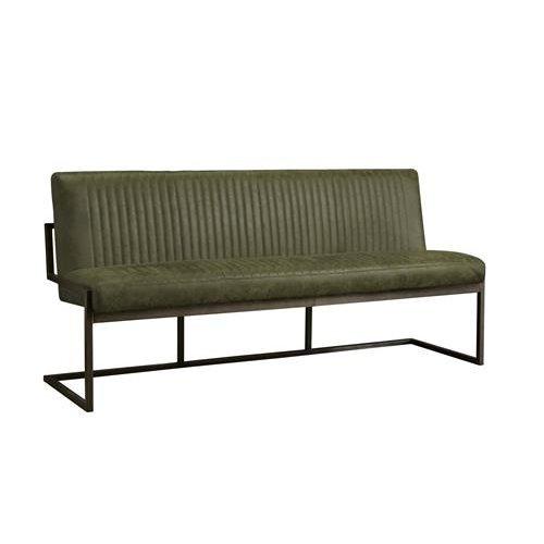 Ferro eetkamerbank green | 135-205 cm